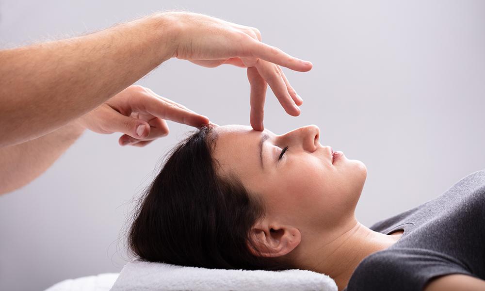 gezichtsreflex, gezicht massage, lone sorensen